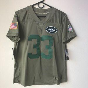 "Nike NFL Salute to service, Adams 33"" NY Jets"